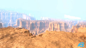 3D Canyon Animation by Ali Soltanian Fard Jahromi