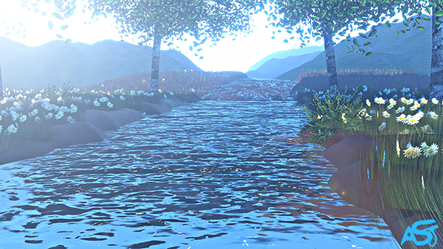CGI River Animation by Ali Soltanian Fard Jahromi